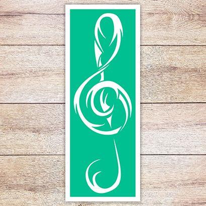Трафарет Ключ в кельтском стиле