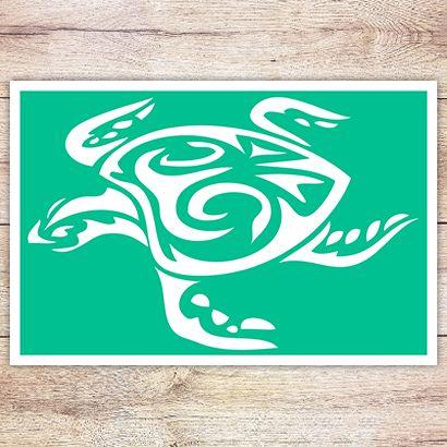 Трафарет Океаническая черепаха
