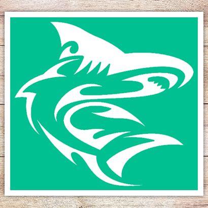 Трафарет Карликовая акула