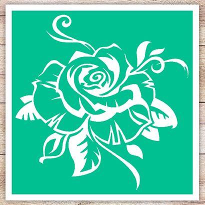 Трафарет Идеальная роза