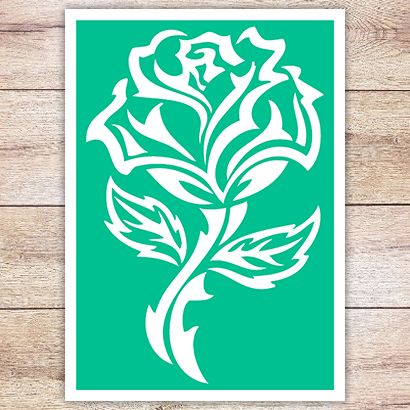 Трафарет Кельтская роза