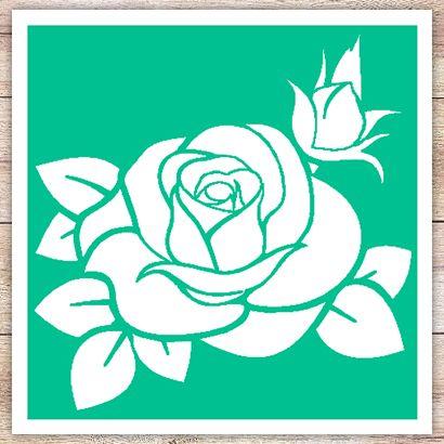 Трафарет Плетистая роза