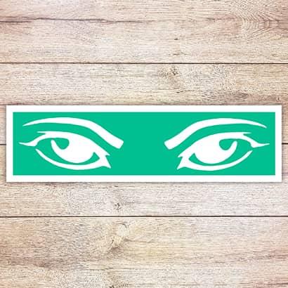 Трафарет Выразительные глаза